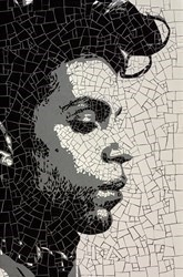 Prince by David Arnott -  sized 36x23 inches. Available from Whitewall Galleries
